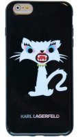 Lagerfeld iPhone 6+ Monster Choupette Hard Black