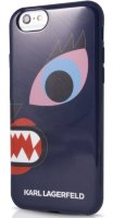 Lagerfeld iPhone 6+ Monster Choupette Hard Blue