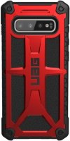 Чехол UAG Monarch Series для Galaxy S10+ Crimson (211351119494)