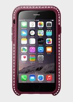 LunaTik чехол SEISMIK iPhone 6 (Dark raspberry)