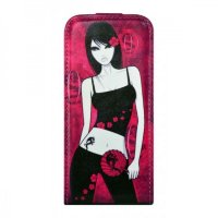 City Girls для iPhone 5/5S Flip Leather Pink