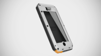 LunaTik чехол TakTik Extreme iPhone 5S (White)