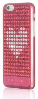 BMT Case for iPhone 6, Extravaganza Pink Metallic - Crystal Heart