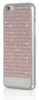 BMT Case for iPhone 6, Extravaganza Silver Metallic - Pure Light Rose