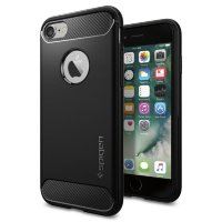 Spigen Rugged Armor Black 042CS20441 - Чехол для iPhone 7