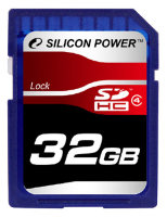 SDHC карта памяти Silicon Power 32GB Class4