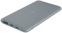 Внешний аккумулятор Aukey Slim 5000 mAh Power Bank with Type-C Gray PB-XN5