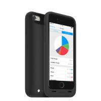 Mophie Space Pack for iPhone 6 128 gb 3300 mAh Black