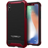 Чехол Spigen Reventon для Iphone X цвет Metallic Red (057CS22698)
