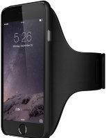 Boostcase Carte Blanche Armband S/M for iPhone 6 - Black