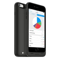 Mophie Space Pack for iPhone 6 Plus 128 gb 2600 mAh Black