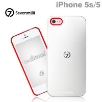 Die Slimest Ultra Slim 7mm for iPhone 5/5s Silver/Red