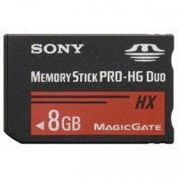 Карта памяти Sony Memory Stick Pro-HG Duo HX 8Gb (MS-HX8B/T1)