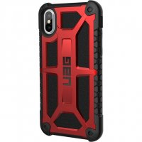 Чехол Urban Armor Gear (UAG) Monarch series для iPhone X, цвет Красный (Crimcon)
