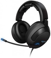 Наушники Roccat Kave Solid 5.1 Surround Sound Gaming Headset Black (Уценка)