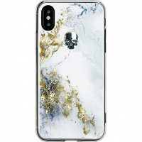Чехол Bling My Thing Treasure Collection Alabaster для iPhone X серебристый череп (ipx-tr-bk-jet)