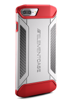 Чехол Element Case CFX для iPhone 7 Plus White/Red (EMT-322-131EZ-12)