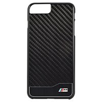 Чехол BMW для iPhone 7 Plus M-Collection Aluminium&Carbon Hard Black