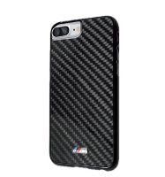 Чехол BMW для iPhone 7 Plus M-Collection Carbon inspiration Hard Real carbon Black