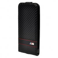 BMW для iPhone 6 M-Collection Flip Carbon Black