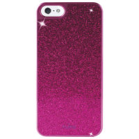 Puro Glitter Cover for iPhone 5/5s, Purple