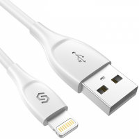 Кабель SyncWire Unbreak cable Lightning to USB Cable & Sync Charge 1м White SW-LC034