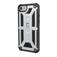 Чехол Urban Armor Gear (UAG) Monarch series для iPhone 7/6/6S Silver