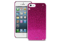 Puro Glitter Cover for iPhone 5/5s, Фиолетовый