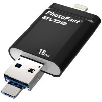 PhotoFast i-Flashdrive EVO Plus флеш-накопитель - 16GB