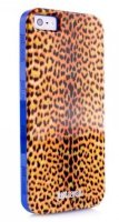 Just Cavalli Micro Leopard Cover чехол для iPhone 5/5s
